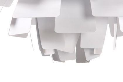 Pendelleuchte in weiß, modern - Vorschau 3