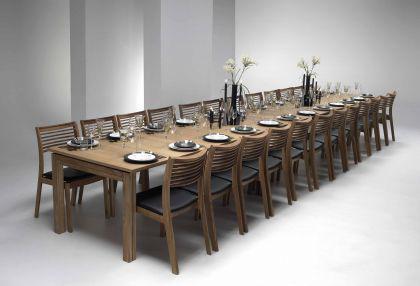 Stuhl aus Eichenholz im klassischen Stil - Vorschau 3