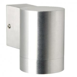 Outdoorleuchte Metall Glas aluminium LED