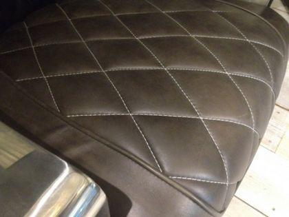 Lifestyle Sessel aus Leder und Aluminium - Vorschau 4