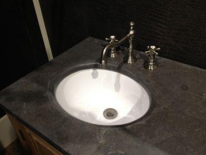 Doppelter Waschtisch im Landhausstil mit dem Spiegel inkl. Armaturen - Vorschau 3