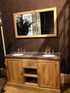 Doppelter Waschtisch im Landhausstil mit dem Spiegel inkl. Armaturen