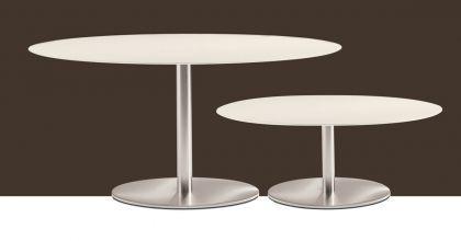 Design Tisch Inox Ellittico