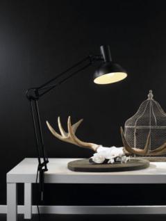Schreibtischleuchte Metall schwarz verstellbar modern - Vorschau 4