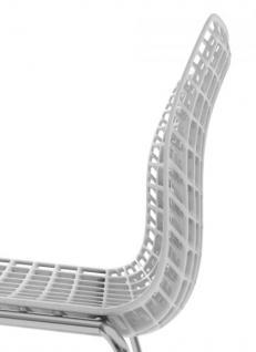 Design-Stuhl mit Armlehne in sieben Farben - Vorschau 2