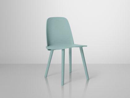 Designer Stuhl in petrol - Vorschau