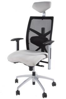Design Bürostuhl in grau modern - Vorschau 1