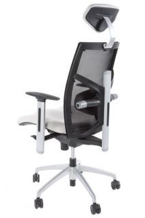 Design Bürostuhl in grau modern - Vorschau 4