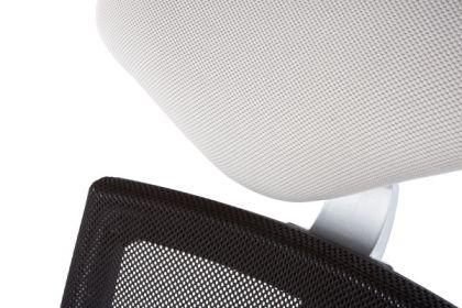 Design Bürostuhl in grau modern - Vorschau 3