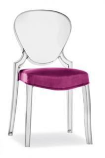 Design Stuhl Queen mit Polster - Vorschau 3