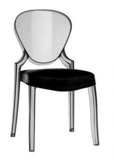 Design Stuhl Queen mit Polster - Vorschau 1