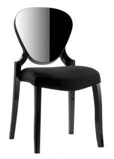 Design Stuhl Queen mit Polster - Vorschau 4