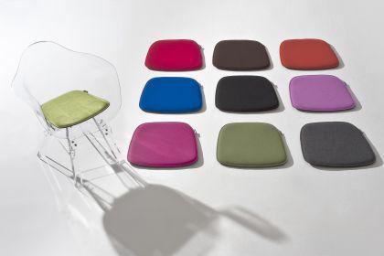 Sitzkissen aus Fils in verschiedenen Farben