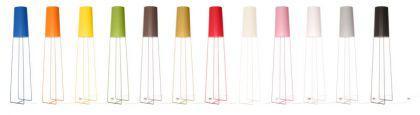 Design-Tischleuchte, moderne Tischlampe in neun verschiedenen Farben - Vorschau 2