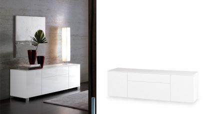 Modernes Sideboard in zwei Farben, 180 cm Breite