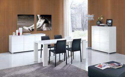 Moderne design Highboard, Kommode, Sideboard, Anrichte in zwei Farben