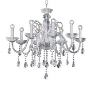 kronleuchter metall chrom glas transparent modern kaufen. Black Bedroom Furniture Sets. Home Design Ideas