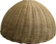 Lampenschirm aus Rattan für eine Hängeleuchte im Landhausstil 52 cm