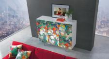 Schrank Artdesign, Highboard in zwei Farben, Breite 152 cm