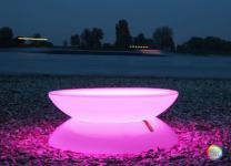 Lounge Tisch LED PRO Accu ? Multicolor