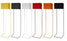 Design-Stehleuchte, moderne Stehlampe in sechs verschiedenen Farben