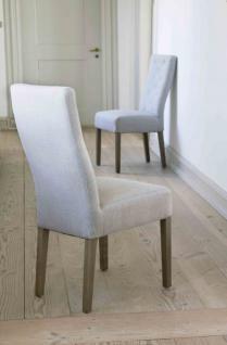 Stuhl im Landhausstil, geknöpft gepolstert
