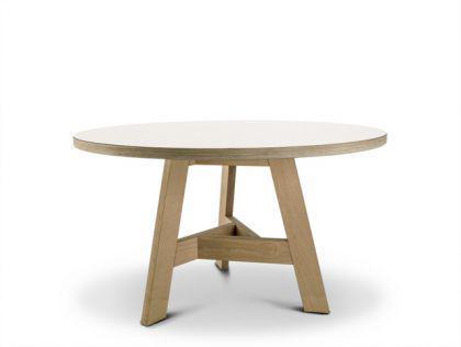 Runder Esstisch, 128 cm Durchmesser