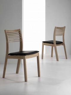 Stuhl aus Eichenholz im klassischen Stil - Vorschau 1