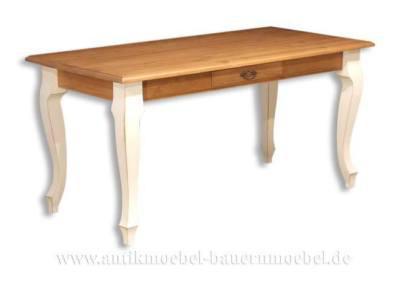 Esstisch Küchentisch Tisch Louis Phillipe