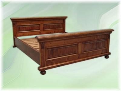 Bett Doppelbett Massivholz Landhausstil - Vorschau