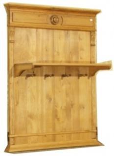 Wandgarderobe Garderobe massiv Holz Landhausstil - Kaufen bei ...