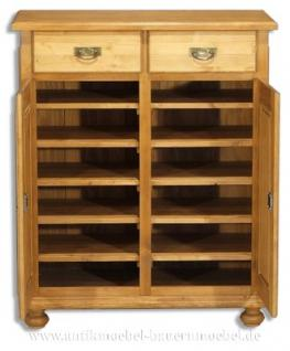 schuhschrank schuhregal vertiko anrichte schrank holz massiv landhausm bel kaufen bei country. Black Bedroom Furniture Sets. Home Design Ideas