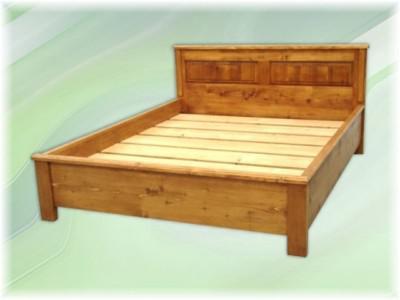 Bett Doppelbett Landhausstil Massivholz