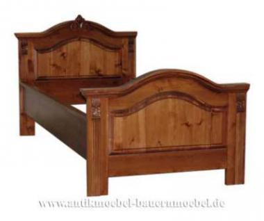 Bett Einzelbett Landhausstil - Vorschau