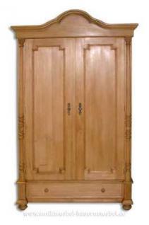 Kleiderschrank Dielenschrank massiv Holz Landhausstil