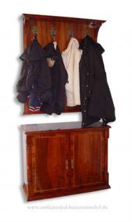 Wandgarderobe Garderobe Biedermeier Kirschbaum