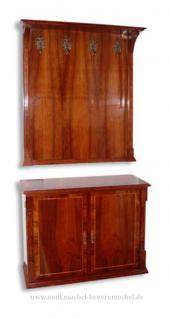 wandgarderobe garderobe biedermeier kirschbaum vorschau 2