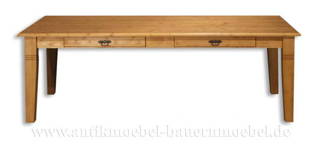 Esstisch Küchentisch Massivholz Landhausstil - Vorschau 2