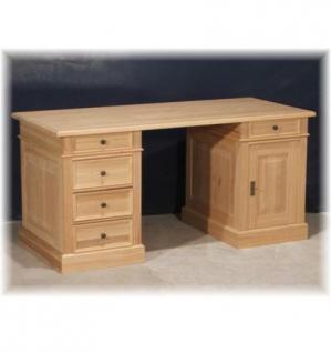 Schreibtisch Arbeitstisch Computertisch Büro PC- Tisch Holz massiv Landhausstil