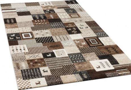 designer teppiche modern loribaft nomaden teppich gabbeh optik beige braun creme kaufen bei. Black Bedroom Furniture Sets. Home Design Ideas