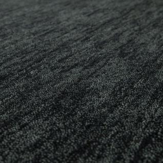 Teppich Handgeknotet Gabbeh Hochwertig 100% Wolle Dezent Meliert Anthrazit - Vorschau 3