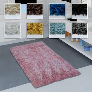 Moderne Badematte Badezimmer Teppich Shaggy Weich In Versch. Größen u. Farben