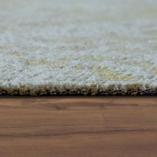 In- & Outdoor Teppich Modern Shabby Chic Stil Terrassen Teppich Wetterfest Gelb - Vorschau 2