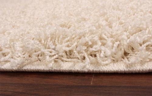 Shaggy Creme Hochflor Langflor Teppich UNI Ivory * - Vorschau 2