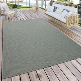 Outdoor Teppich Für Terrasse Und Balkon Küchenteppich Einfarbig Modern Grün