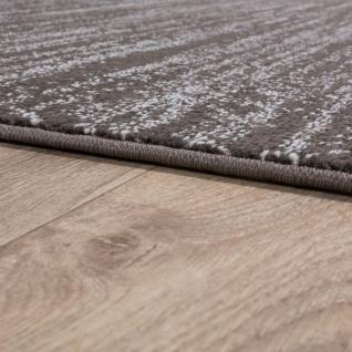 Teppich Kurzflor Modern Trendig Pastellfarben Design Meliert Einfarbig Taupe - Vorschau 2