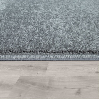 Kinder-Teppich, Moderner Spiel-Teppich Für Kinderzimmer, Mit Stern-Motiv In Grau - Vorschau 2