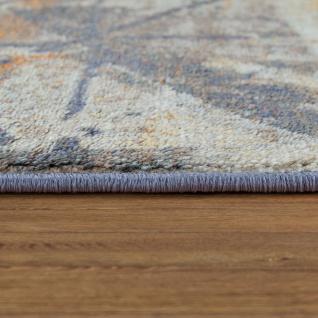 Kurzflor Teppich Wohnzimmer Abstraktes Muster Used-Look Mustermix Modern Bunt - Vorschau 2