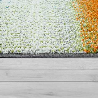 Designer-Teppich, Kurzflor-Teppich Mit Abstraktem Muster Farbverlauf, In Bunt - Vorschau 2