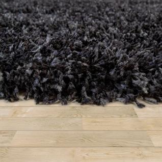 Hochflor Teppich Shaggy Grau Beige Blau Rosa Anthrazit Wohnzimmer Weich Robust - Vorschau 3
